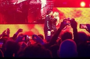 Jay Z Brings Out Beyonce At DirectTV Super Bowl Party (Video)