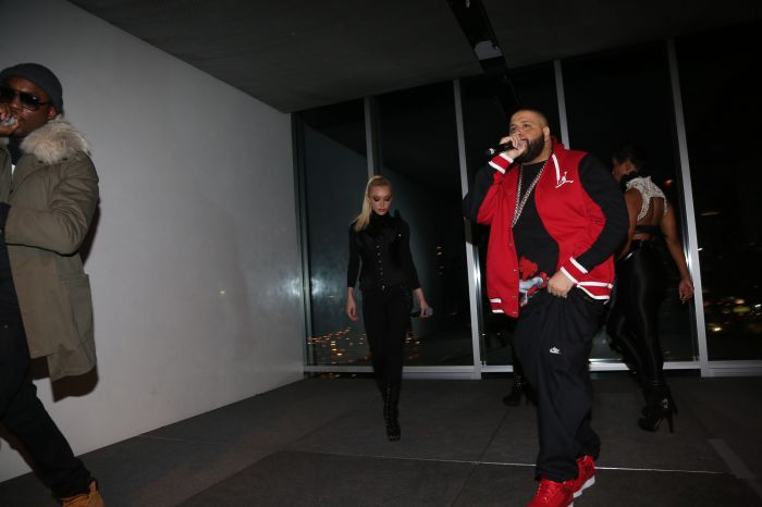 Meek Mill, Just Ivy, & DJ Khaled Perform(Photo Credit Johnny Nunez)