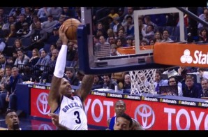 NBA JAM: Grizzles Big Man James Johnson Throws himself an Alley-Oop (Video)