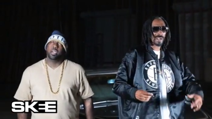 bts 1 Trae Tha Truth   Old School ft. Snoop Dogg (Behind The Scenes)(Video)
