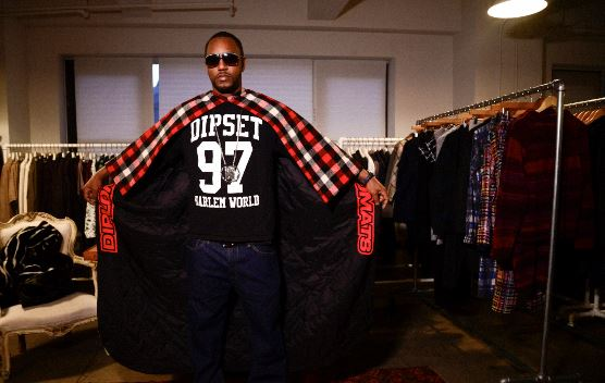 k1 Camron Hooks Up With Designer Mark McNairy To Create Custom Capes