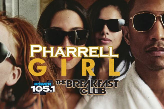 pharrell breakfast club Listen To Pharrell Talk Being Mentored By Teddy Riley, S.N.I.T.C.H, Fashion, G I R L & More W/ The Breakfast Club!