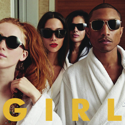 pharrell girl album cover Pharrell   G I R L (Album Stream)