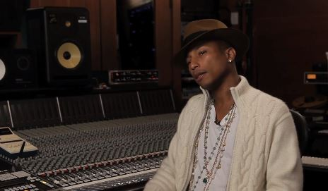 pharrellxhardknocktv Pharrell Talks Making Meaningful Music, Lorde And Kendrick Lamar Shaping The Music Industry & More W/ Nick Huff For Hard Knock TV (Video)