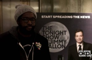 Okayplayer Goes Behind The Scenes Of Questlove's First Day On The Tonight Show (Video)