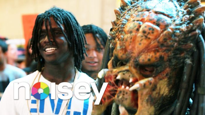 unnamed2 Noisey Presents Episode Three of Chiraq Series | Alien Vs. Predator Vs. Chief Keef (Video)