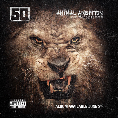 50 cent animal ambition cover art 50 Cent   Hold On