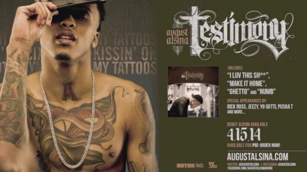 AugustAlsinaKissinTattoos 600x337 August Alsina – Kissin' On My Tattoos