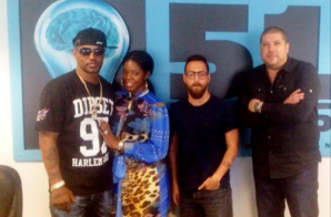 Cam'Ron & JuJu Meet With VH1 Reality Show Creators (Photo)