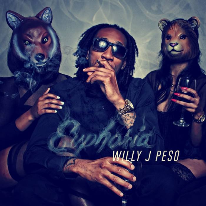Euphoria Front Cover Willy J Peso   Euphoria (Mixtape)