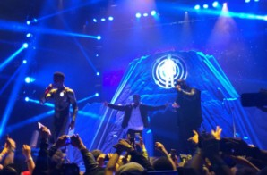 Kid Cudi Previews Unreleased Track At The Barclays Center (Video)