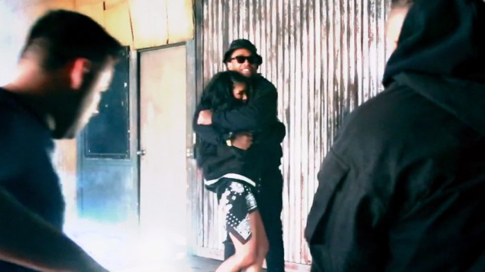 MILA BTS ty 1 Mila J   Smoke, Drank, Break   Up (Behind The Scenes) (Video)