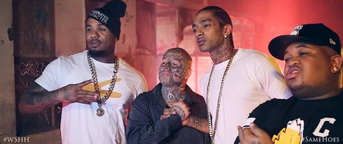 Screenshot 2014 03 24 19.31.44 The Game   Same Hoes Ft. Nipsey Hussle & Ty Dolla Sign (Prod by DJ Mustard) (BTS Video)