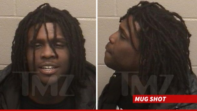 chieff keef mug 630x357 Chief Keef Arrested For DUI