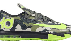 "Nike Zoom KD VI GS ""Camo"" (Photo)"