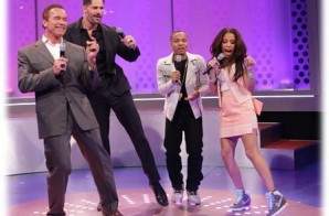 "Watch Arnold Schwarzenegger & Joe Manganiello do the ""Nae Nae"" & the ""Stanky Leg"" tonight on BET's ""106 & Park"""