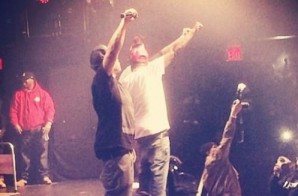 Watch As Action Bronson, Bodega Bamz, French Montana & Swizz Beatz Join The Lox At Best Buy Theater (Video)