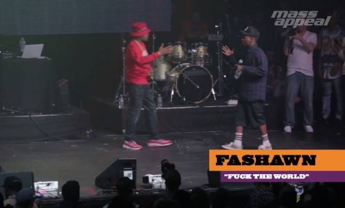 nasfashawnmassappealvideo Watch As Nas Brings Out Fashawn During Mass Appeals SXSW Showcase! (Video)