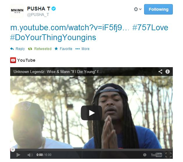 pushacosign Unknown Legendz   If I Die Young Ft. Young Money Yawn (Prod. By Gerald White) (Video)