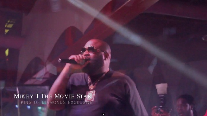 rick ross 1 Rick Ross Celebrates Mastermind Hitting #1 on the Charts @ King of diamonds (Dir. By Mikey T The Movie Star) (Video)