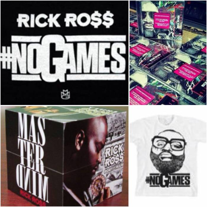 Rick Ross - Mastermind (Deluxe Edition) CD, Prize Pack, and More via HHS1987