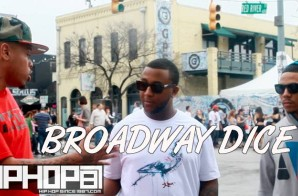"Broadway Dice Talks his project ""The Fast Lane: In Slow Motion, Performing at SXSW Reebok Classic stage & More (Video)"
