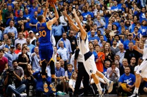Stephen Curry Hits a Game-Winner with only .1 Seconds Left Against the Dallas Mavericks (Video)
