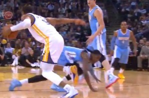 We Fall Down: Andre Iguodala Breaks Quincy Miller Ankles (Video)