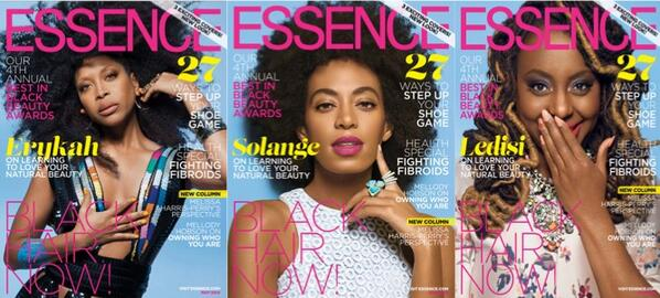 BkJ2DiGCMAA6YJN Erykah Badu, Solange & Ledisi Grace The Cover Of Essences Black Hair Issue (Photos)