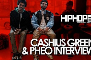 Cashius Green & Pheo Talk Joint EP, 'Right Now', Touring And More With HHS1987 (Video)