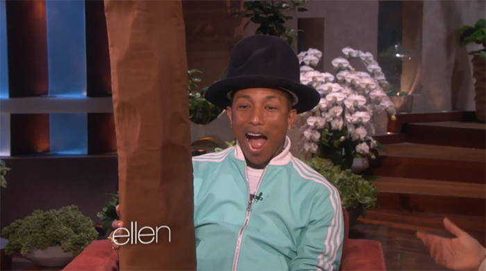Pharrell-Williams-on-Ellen