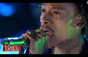 "Wiz Khalifa Performs ""We Dem Boyz"" on the Arsenio Hall Show (Video)"