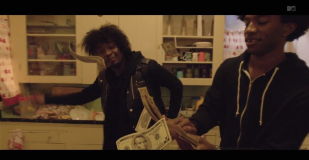 Screen Shot 2014 04 09 at 12.15.10 AM 630x326 1 Danny Brown   25 Bucks (Video) Ft. Purity Ring