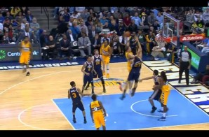 Timofey Mozgov Posterizes Utah Jazz Big Man Rudy Gobert (Video)