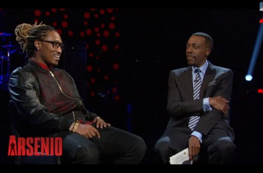 "Future Talks learning from the Dungeon Family, his album ""honest"" & More with Arsenio Hall (Video)"
