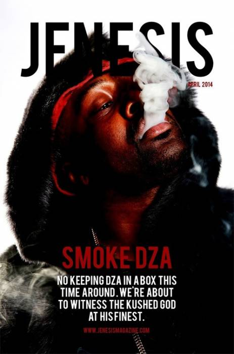 Smoke DZA JENESIS Magazine Smoke DZA Covers JENESIS Magazine