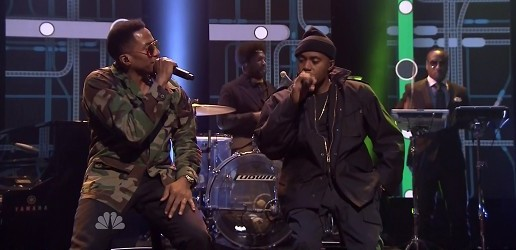 Watch Nas & Q-Tip Perform 'One Love' Live On Jimmy Fallon!