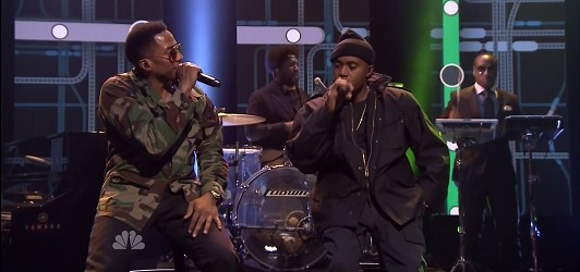 V3F5QAi 1 Watch Nas & Q Tip Perform One Love Live On Jimmy Fallon!