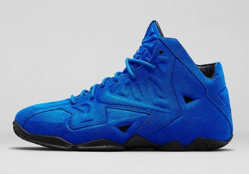 blue suede lebron 11 ext release date 500x350 Nike LeBron 11 EXT Blue Suede (Photos)