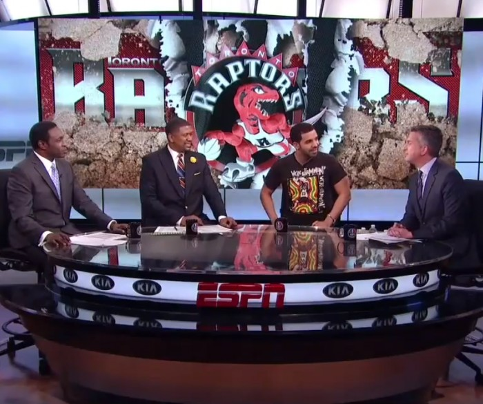 drake espn 1 Drake Talks Hosting The ESPY Awards (Video)