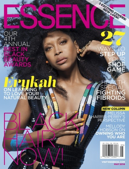erykah badu essence karen civil Erykah Badu, Solange & Ledisi Grace The Cover Of Essences Black Hair Issue (Photos)