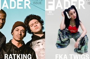 FKA Twigs & RATKING Cover The FADER