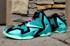 "Nike Lebron 11 ""South Beach"" (Photos)"