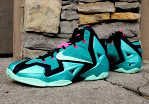 "lebron 11 south beach release 0 500x350 Nike Lebron 11 ""South Beach"" (Photos)"