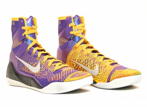 team nike kobe 9 elite 2 500x366 Nike Kobe 9 Elite Team (Photos)