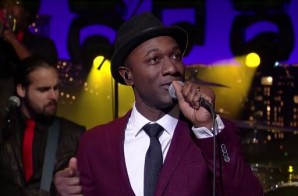 "Aloe Blacc Perform ""The Man"" on the David Letterman Show (Video)"