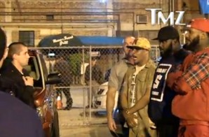 The Game & T.I. Standoff with LAPD outside the Supperclub in Los Angeles (Video)