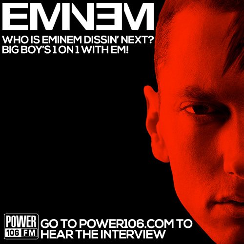 unnamed Eminem Reveals Whos Next To Catch The Wrath Of The Rap God & More w/ Big Boy (Audio)