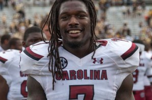 Draft King: The Houston Texans take Jadeveon Clowney with the 1st Overall Pick in the 2014 NFL Draft