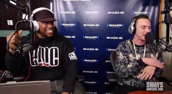BoLjXxyCYAAEELD 1 Logic   5 Fingers Of Death x Sway In The Morning Freestyle (Video)